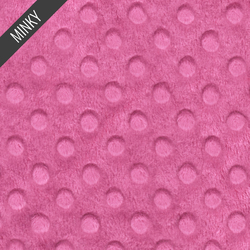 Minky Dimple Dot in Petunia