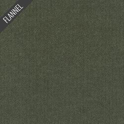 Shetland Herringbone Flannel in Olive