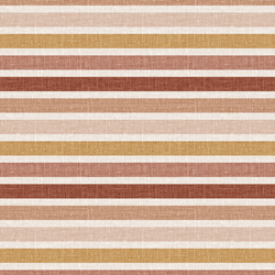 Stripe in Pink and Mustard