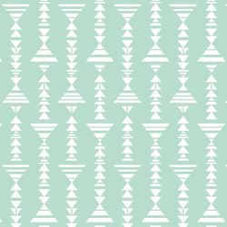 Little Tribal Stripe in Mint
