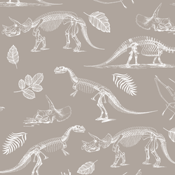 Fossils in Taupe