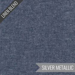 Essex Yarn Dyed Metallic in Midnight