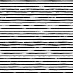 Small Watercolor Stripes in Black