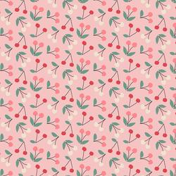 Little Cherries in Bubblegum Pink