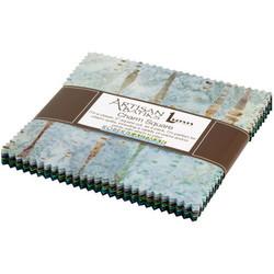 "Modern Twist Artisan Batiks 5"" Square Pack"