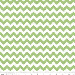 Small Chevron in Green