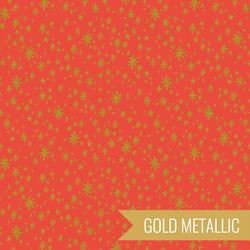 Starry Night in Red Metallic