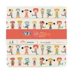 """Petite Circus 10"""" Square Pack"""