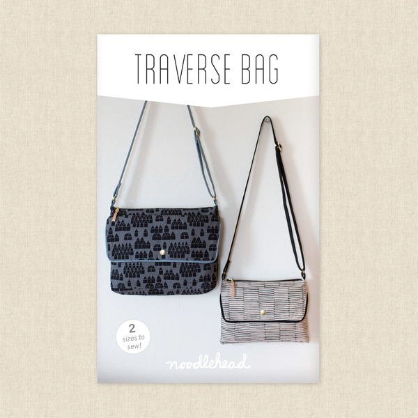 Traverse Bag Sewing Pattern by Noodlehead at Hawthorne Supply Co