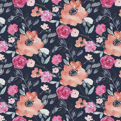 Midnight Floral in Multi