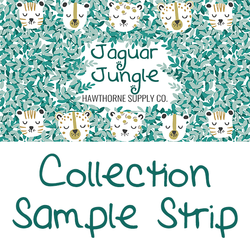 Jaguar Jungle Sample Strip