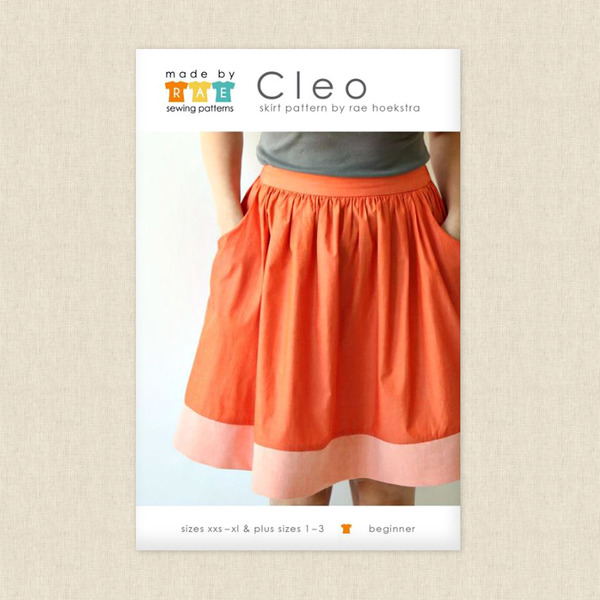 Cleo Skirt Sewing Pattern by Made by Rae at Hawthorne Supply Co