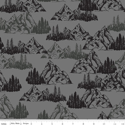 Mountains in Gray