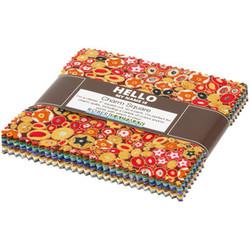 """Gustav Klimt Blenders 5"""" Square Pack"""