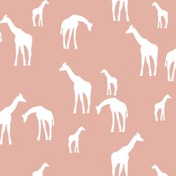 Giraffe Silhouette in Quartz