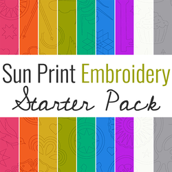 Sun Print 2020 Starter Pack in Embroidery
