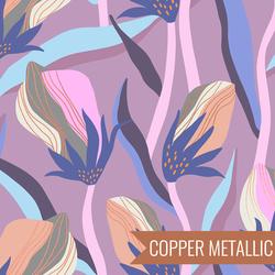 Bloom in Metallic Heather