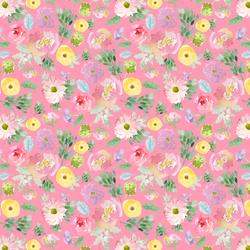 Little Spring Blooms in Gerbera Pink