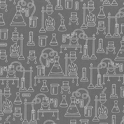 Beakers in Grey