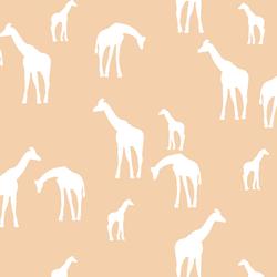 Giraffe Silhouette in Nectar