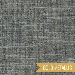 Manchester Yarn Dyed Metallic in Midnight