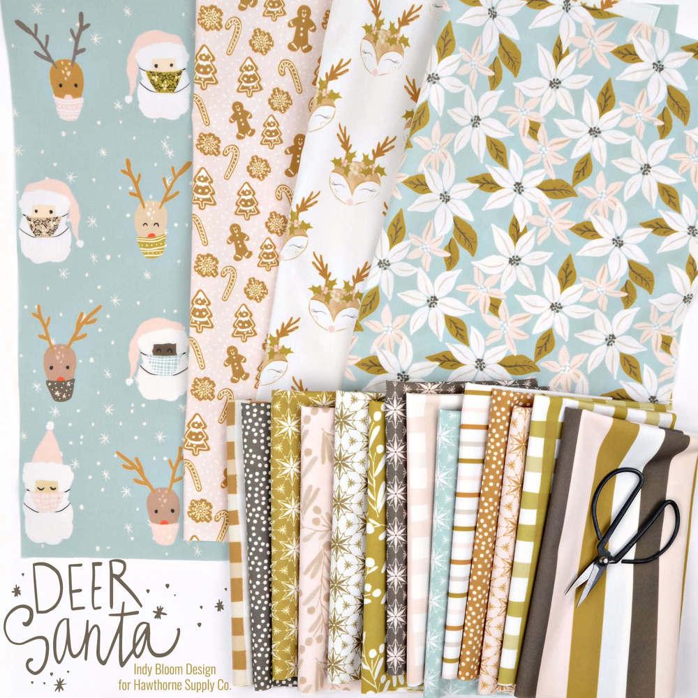Deer Santa Poster Image