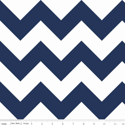 Large Chevron in Navy
