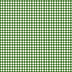 Gingham in Green