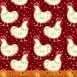 Chicken Fancy in Burgundy