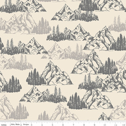 Mountains in Cream