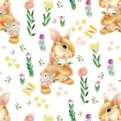Bunny Girl in Spring