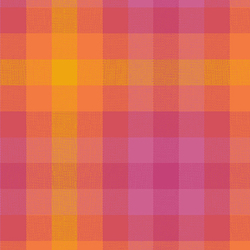 Plaid in Sunrise