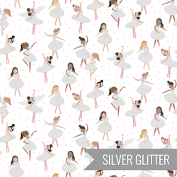 Glitter Girls in White