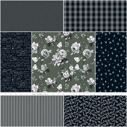 Gingham Farm Fat Quarter Bundle in Rustic