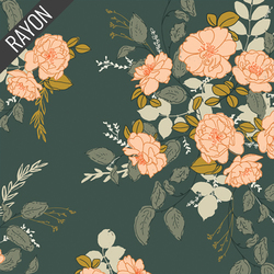 Georgette's Secret Garden Rayon in Pine