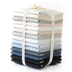 Cotton and Steel Basics Fat Quarter Bundle in Neutral