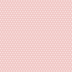 Little Spring Dot in Powder Pink