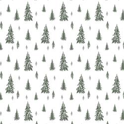Snowy Pines in Kale