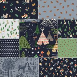 May the Forest Be With You Fat Quarter Bundle