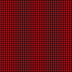 Winter Gingham in Red Apple