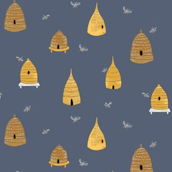 Bee Hives in Sky