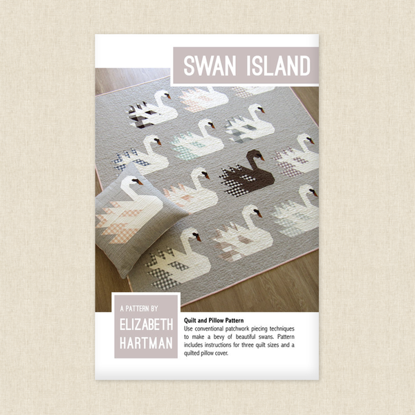 Swan Island Quilt and Pillow Sewing Pattern