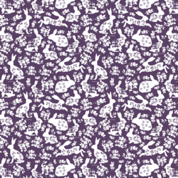 Little Spring Lace in Aubergine