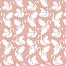 Swan Silhouette in Quartz