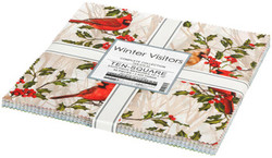 "Winter Visitors 10"" Charm Pack"