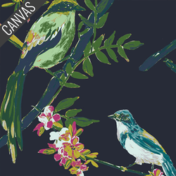 Songbird Canvas in Night Talks