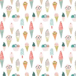 Little Ice Cream Cones in Paradise