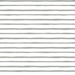 Artisan Stripe in Sage on White