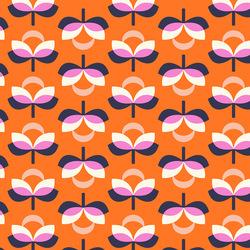 Blooms in Orange Multi