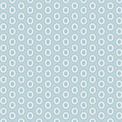 Oval Elements in Powder Blue